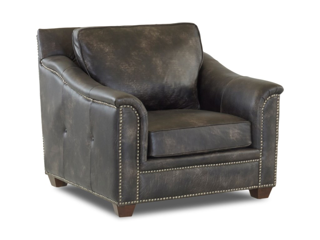 Klaussner WilkesboroLeather Chair