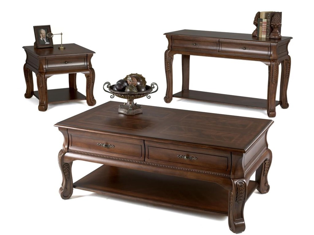 Shown with Cocktail Table & Sofa Table