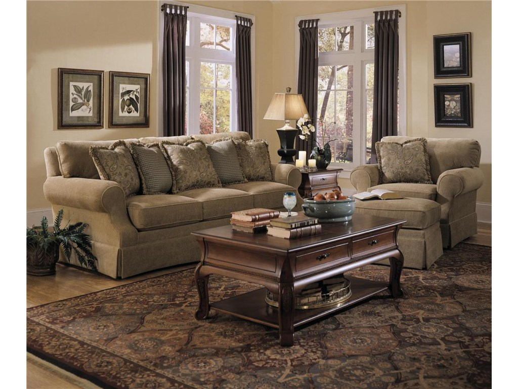Shown with Sofa & Chair