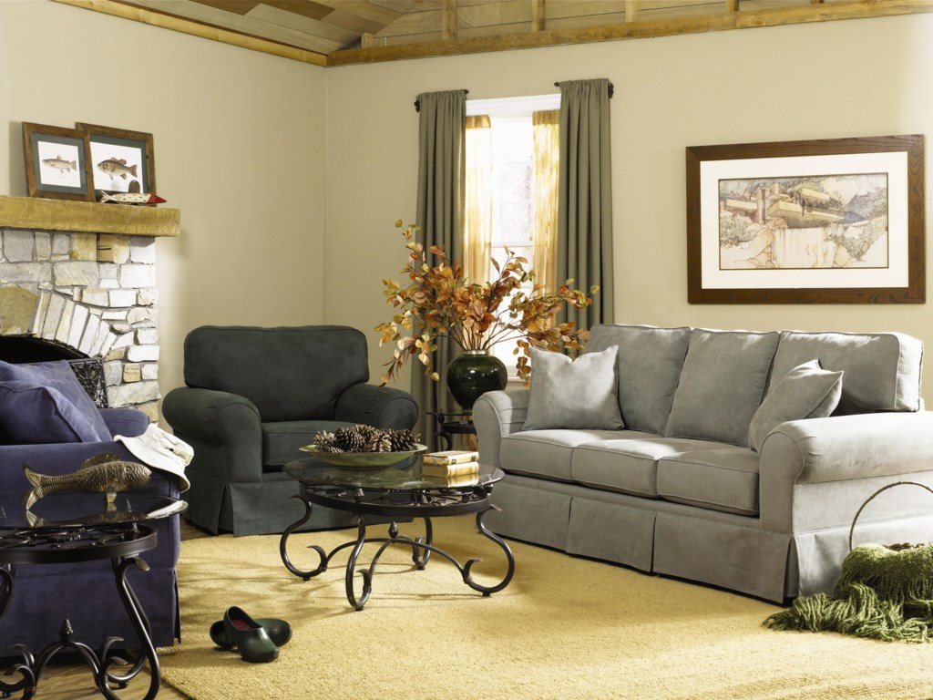Shown in Living Room Setting with Coordinating Sofa