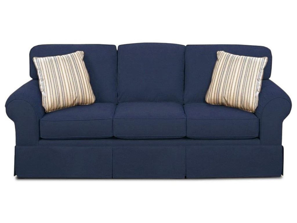 Simple Elegance AsanaSkirted Sunbrella Sofa