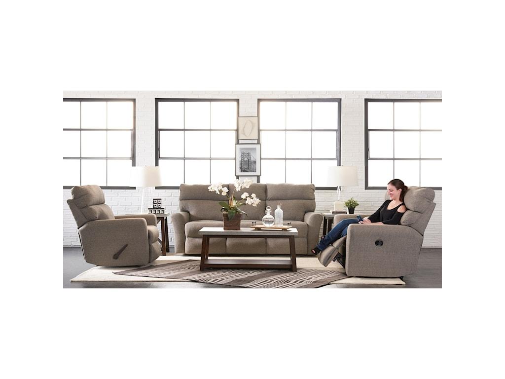 Klaussner XavierReclining Sofa (3 Recliners)