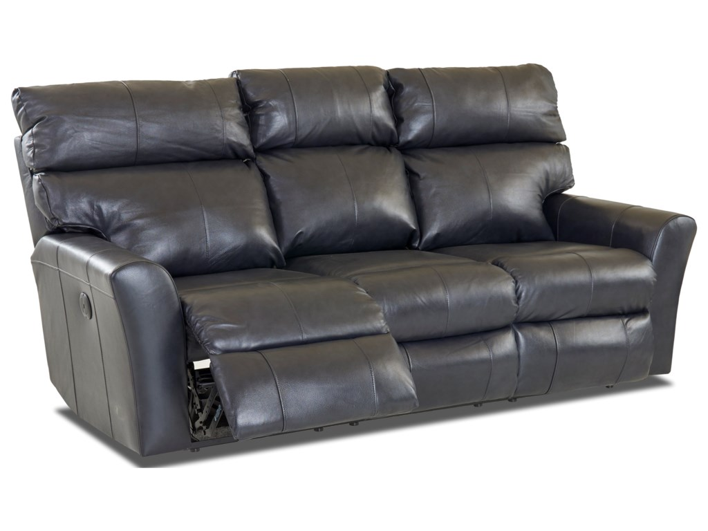 Klaussner XavierPower Reclining Sofa (2 Recliners)