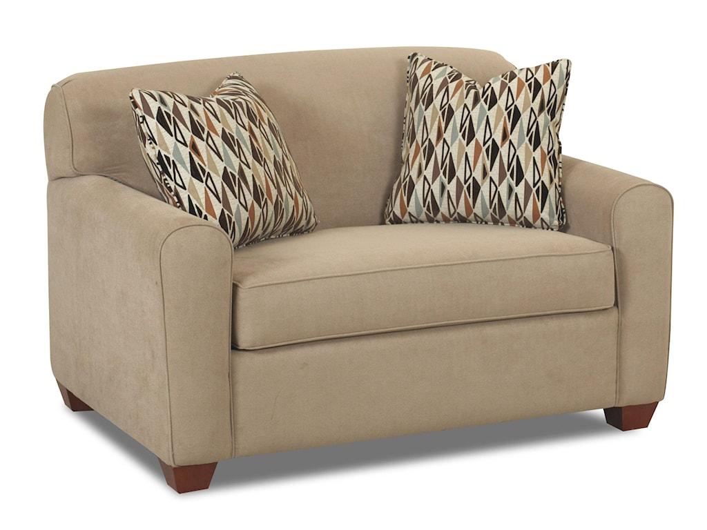 Klaussner Zuma Sleeper Chair w/ Dreamquest Mattress