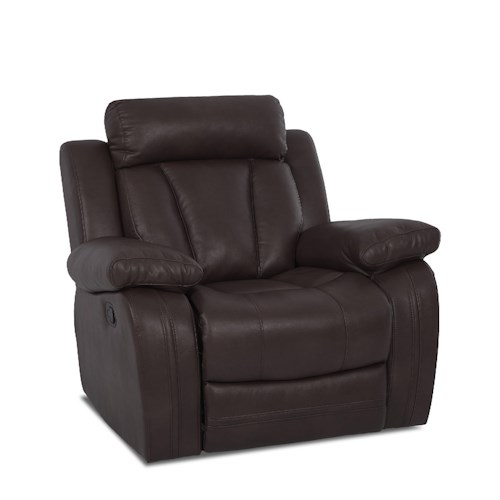 Klaussner International  Atticus-US Casual Power Reclining Chair