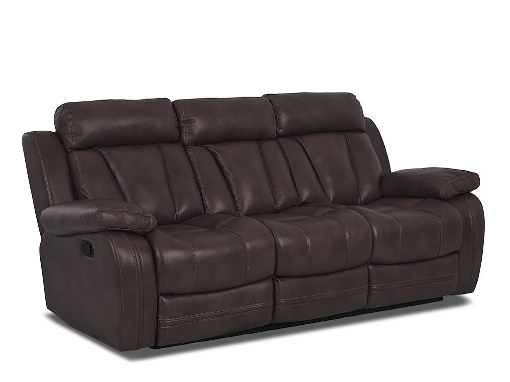 Klaussner International  Atticus-USReclining Sofa W/ Table