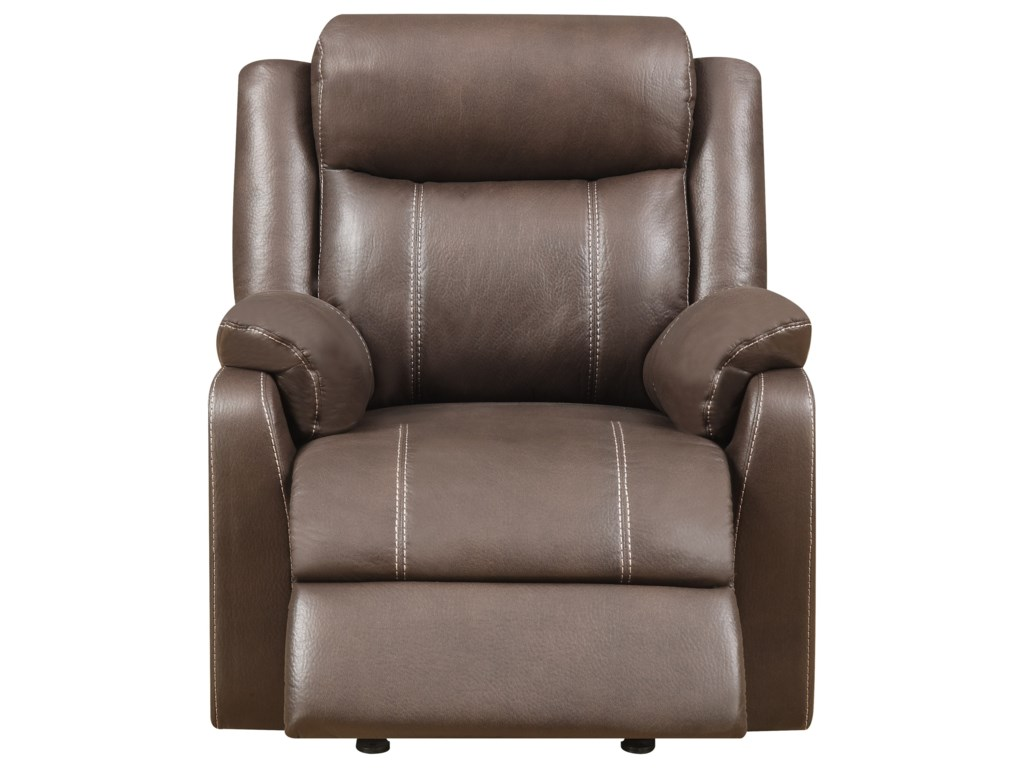 Metropia International  Domino-USGliding Recliner Chair