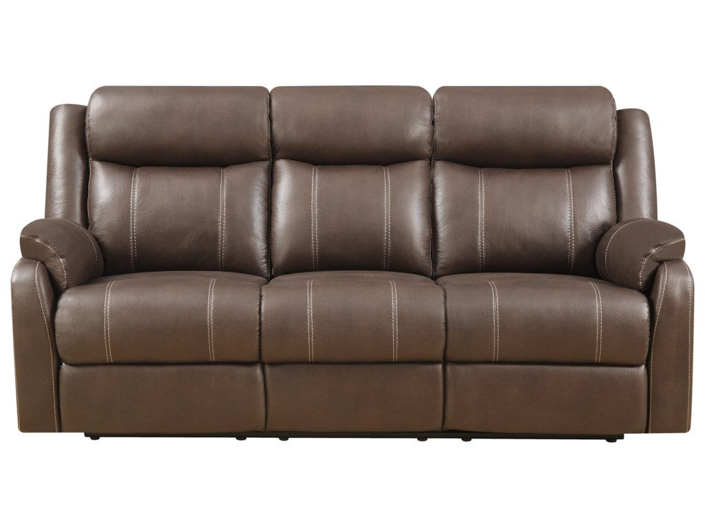 Klaussner International DominoReclining Sofa W/table