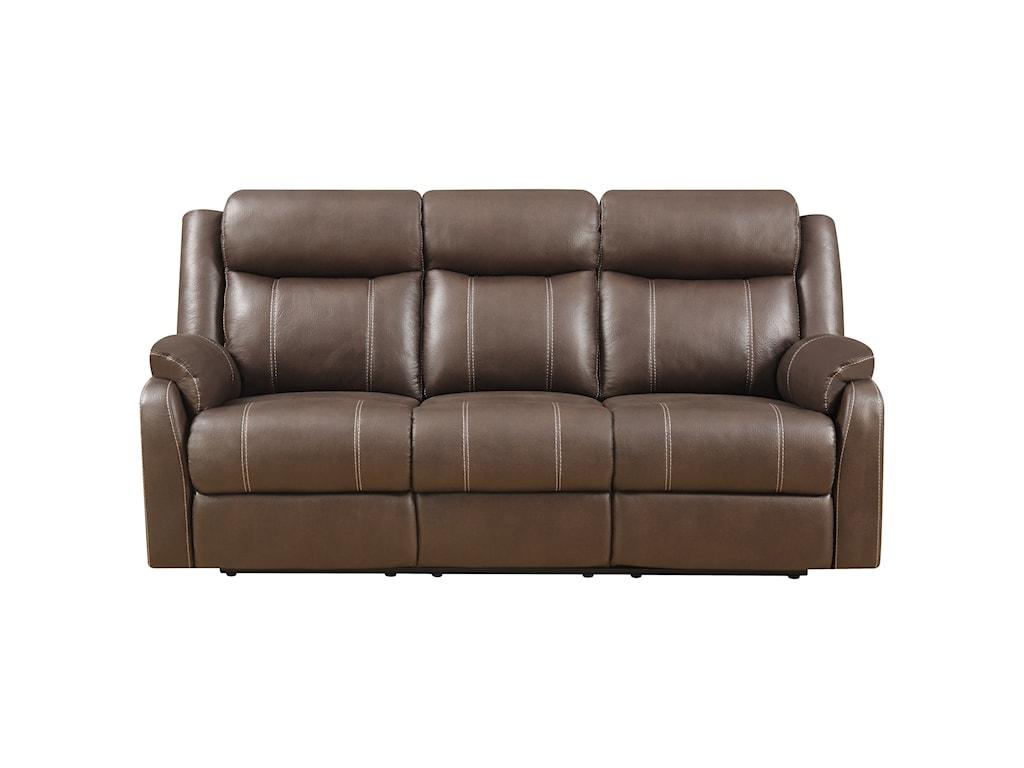 Klaussner International  Domino-USReclining Sofa W/table