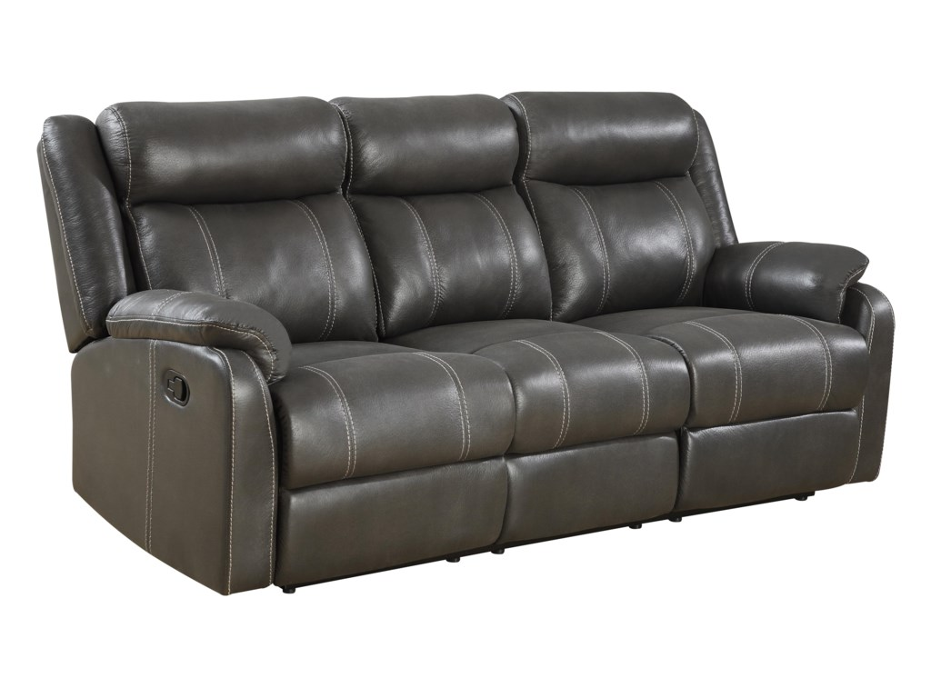 Klaussner International Domino Usreclining Sofa W Table