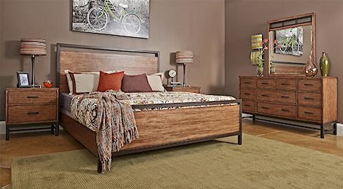 Klaussner International Affinity Queen Bedroom Group