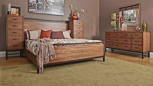 Klaussner International Affinity King Bedroom Group
