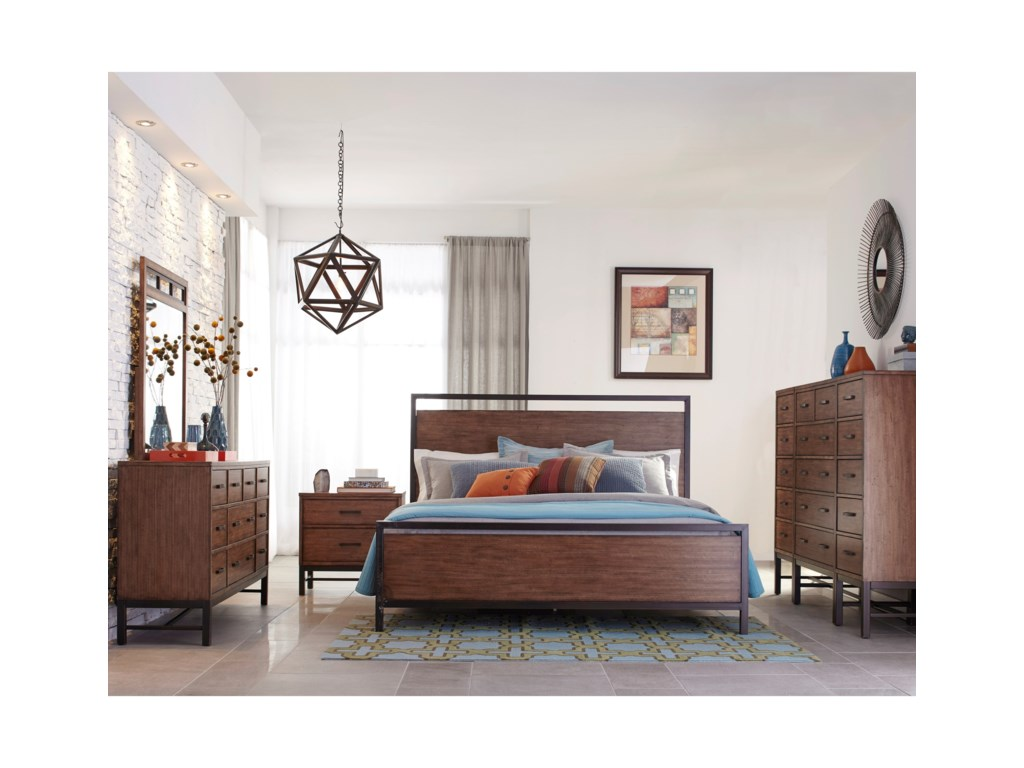 Belfort Basics AffinityQueen Panel Bed