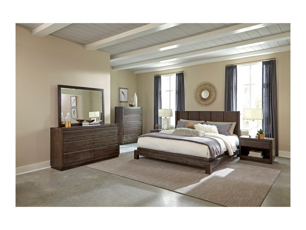 Klaussner International AustinQueen Bed