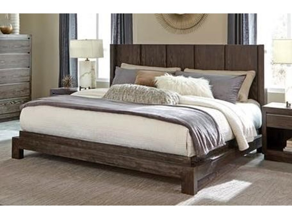 Klaussner International AustinCalifornia King Platform Bed