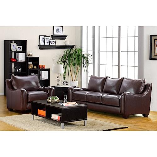 Klaussner international bartlett living room group for Klaus k living room brunssi