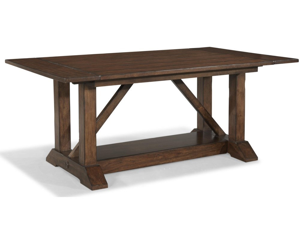 Carolina Preserves by Klaussner Blue RidgeTrestle Table