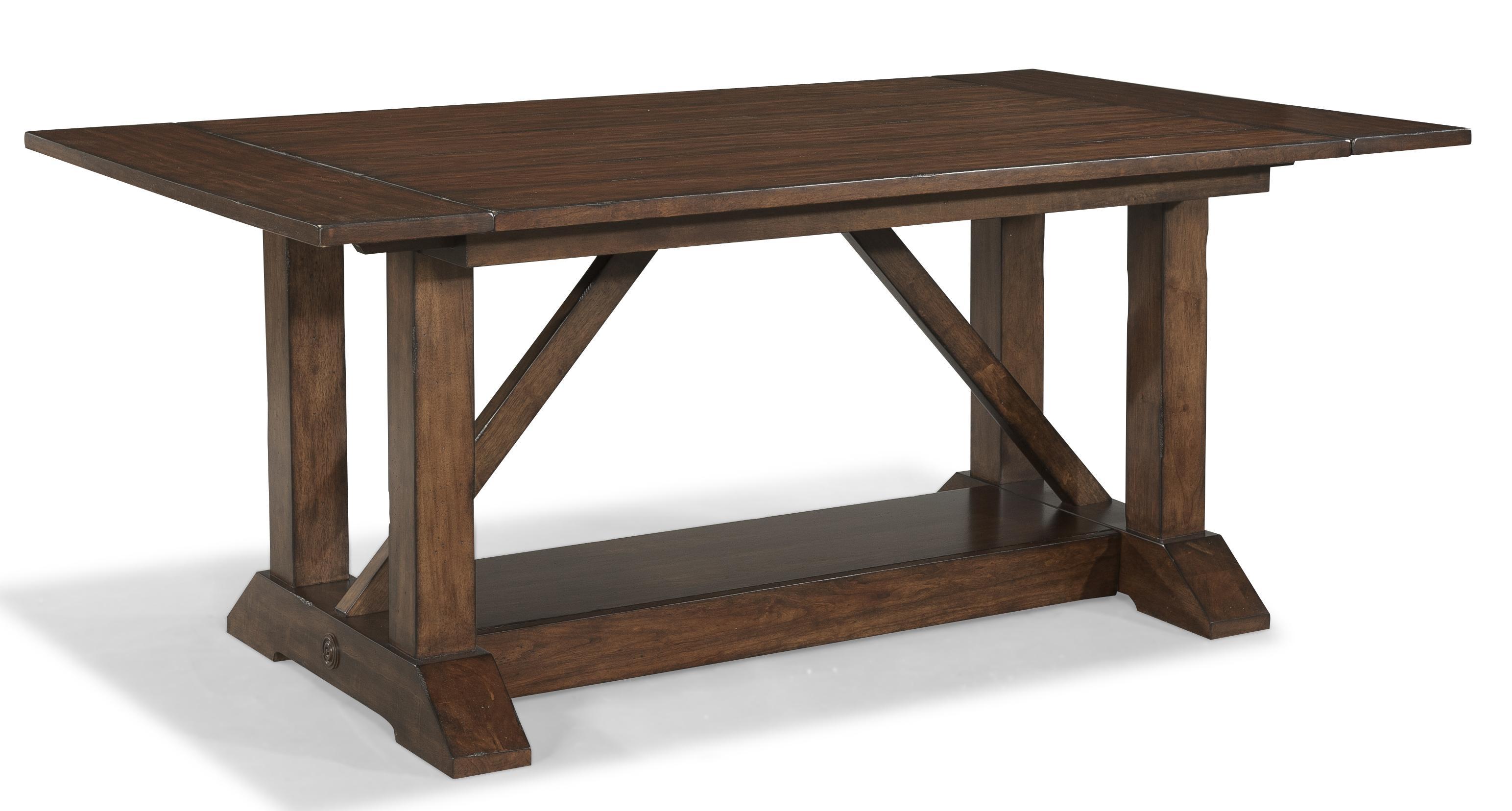 Carolina Preserves By Klaussner Blue RidgeTrestle Table ...