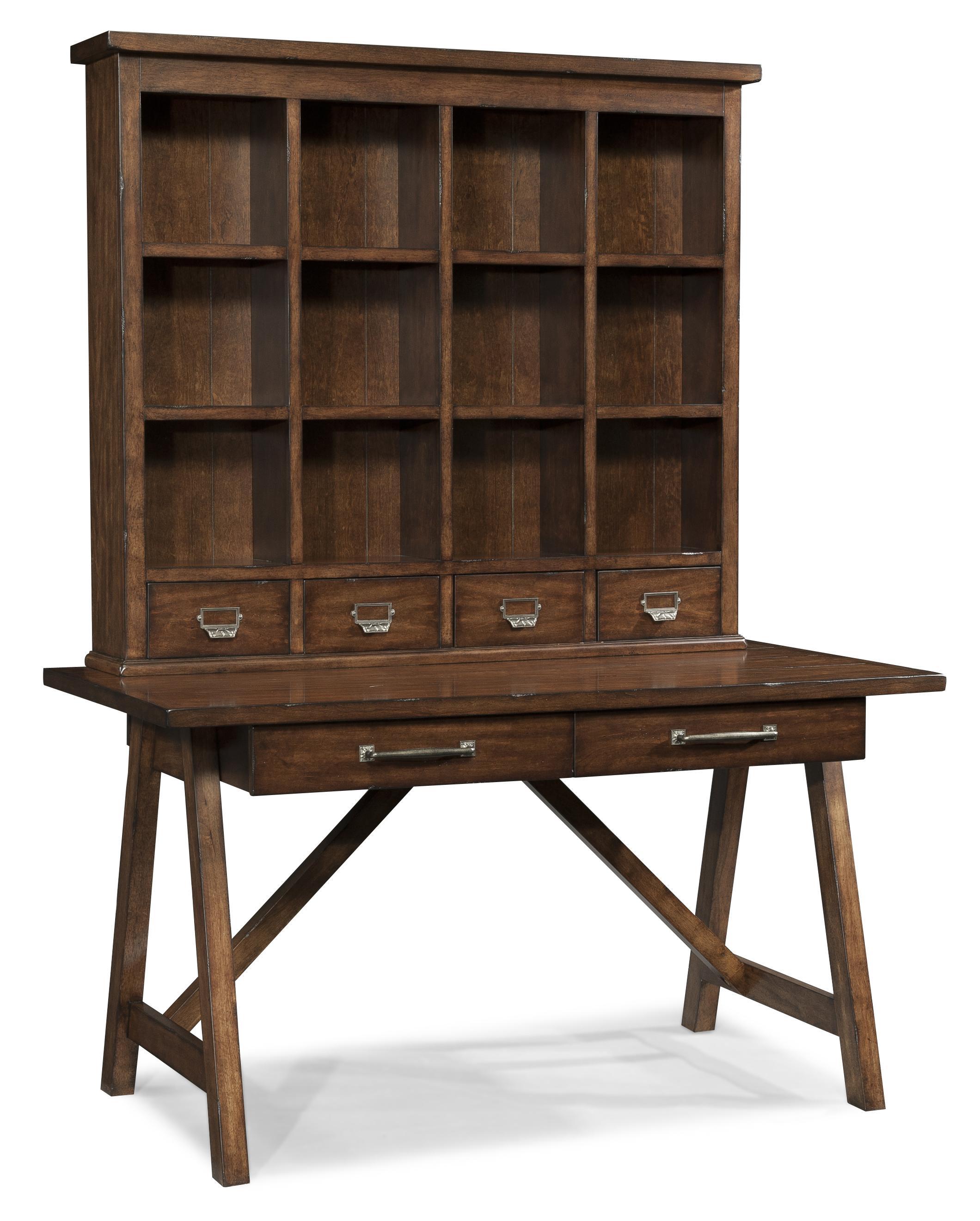 Easton Collection Blue Ridge Desk And Hutch   Belfort Furniture   Desk U0026  Hutch