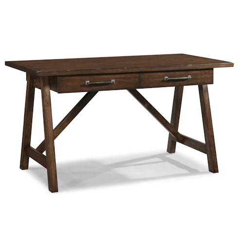 Easton Collection Blue Ridge Imagination-Cherry Desk with 2 Drawers