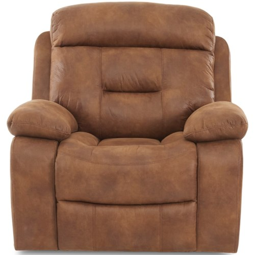 Klaussner International Cano Casual Gliding Reclining Chair