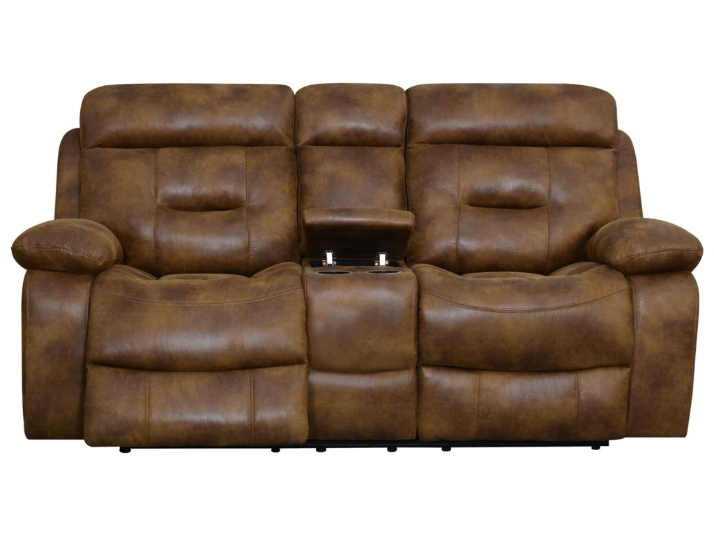 Klaussner International CanoPower Reclining Loveseat