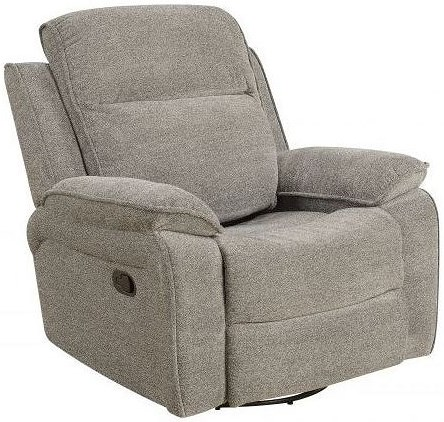 Klaussner International Castaway Power Reclining Glider Recliner with Power Tilt Headrest