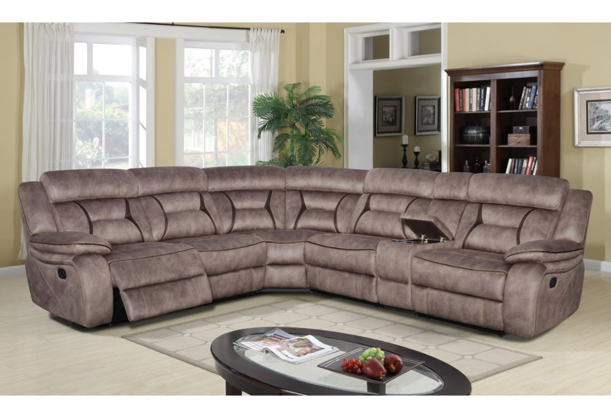 Piece Reclining Sectional