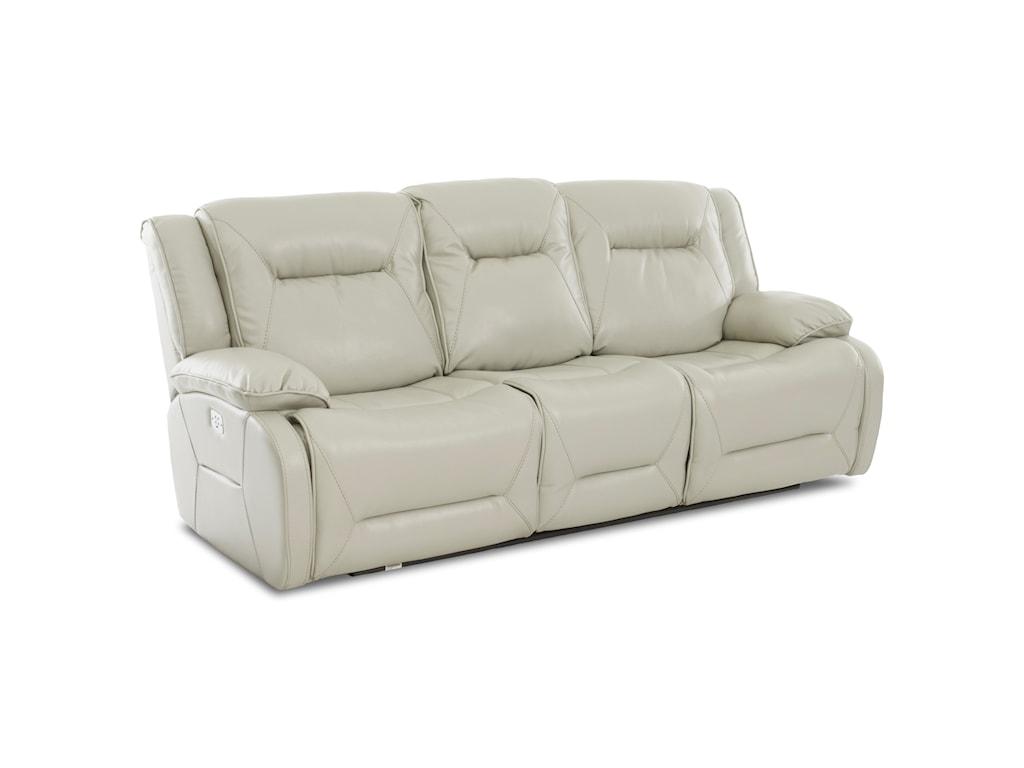 Klaussner International DansbyPower Reclining Sofa