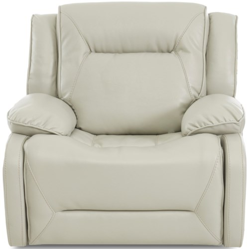 Klaussner International Dansby Casual Faux Leather Recliner