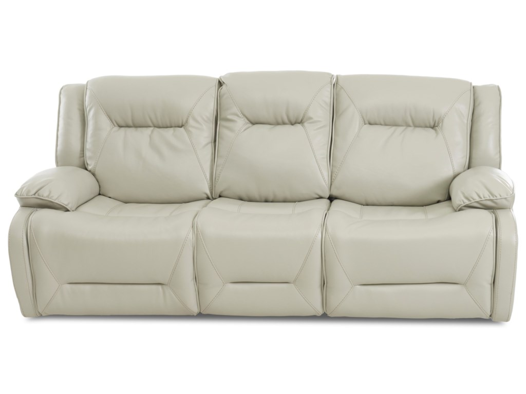Klaussner International DansbyPower Reclining Sofa w/ Pwr Headrests