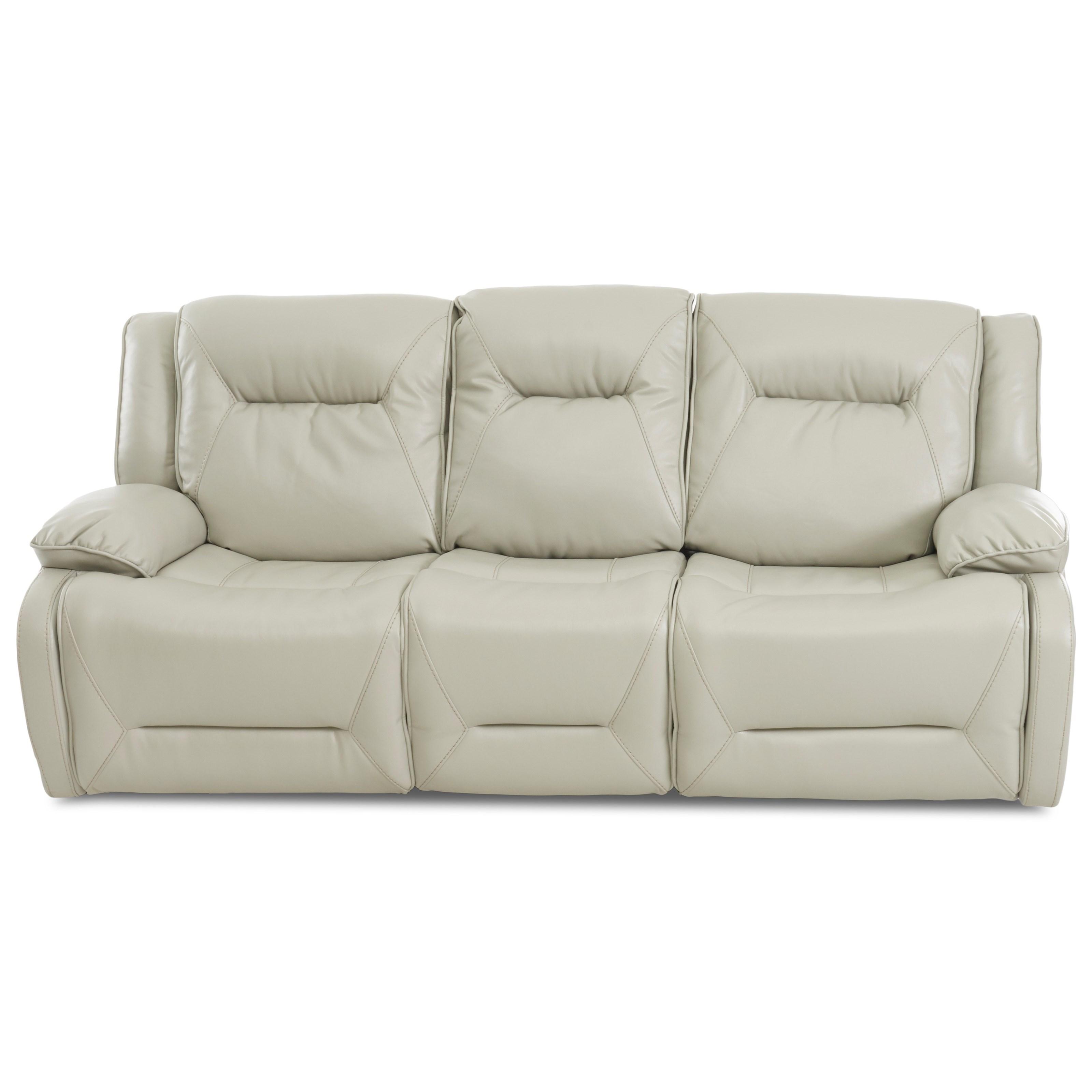 Klaussner International DansbyPower Reclining Sofa ...