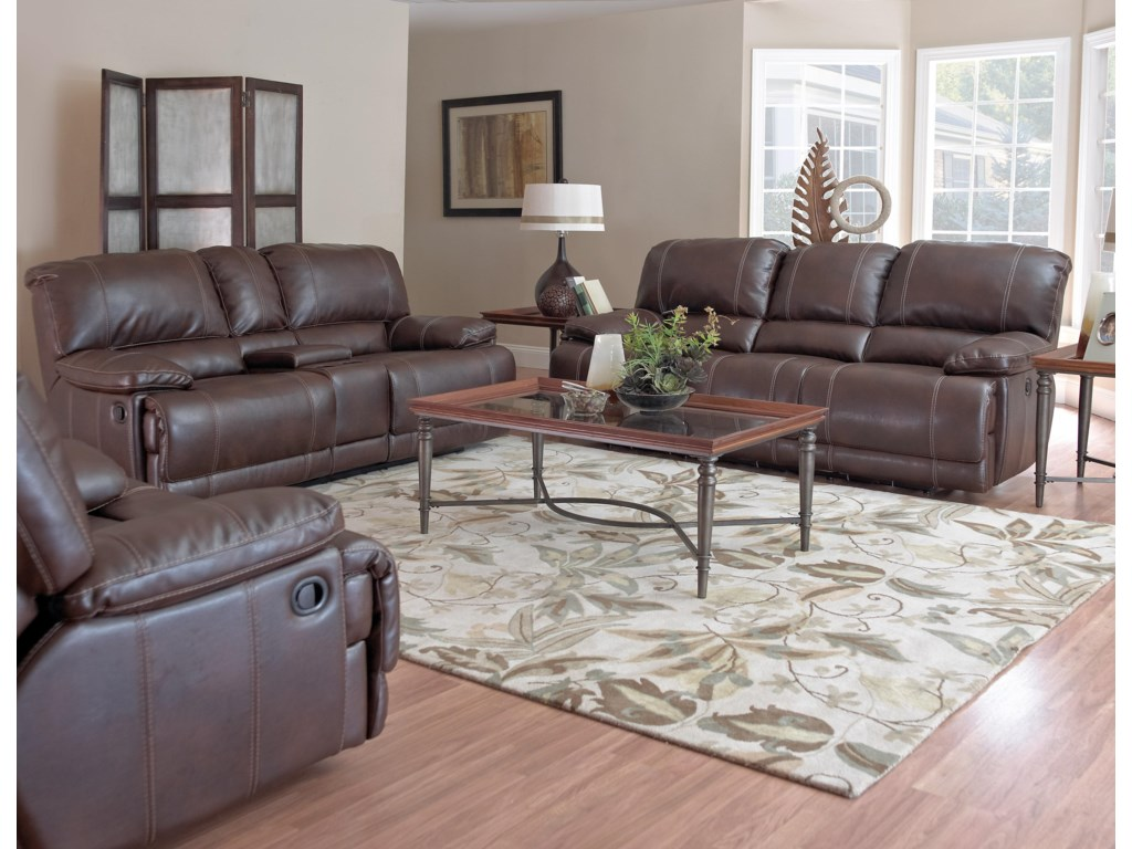 Shown with Reclining Console Loveseat and Reclining Sofa