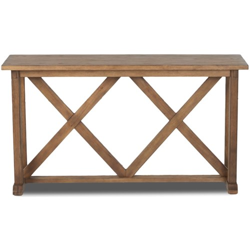 Klaussner International Felton Vintage Sofa Table