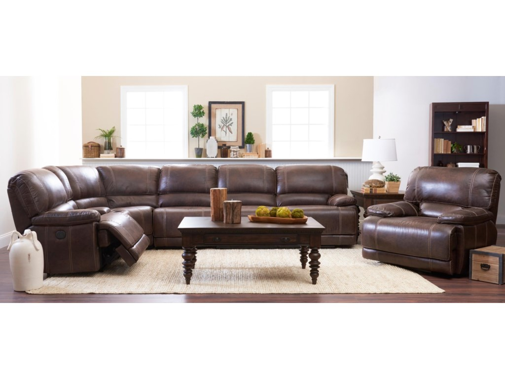 klaussner chairs sofa four item with b two products melrose corner sectional piece place