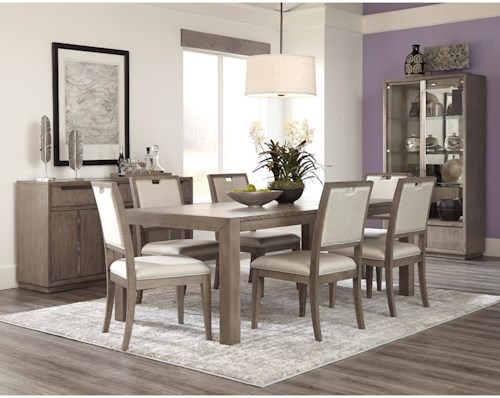 Klaussner International Melbourne Casual Dining Room Group
