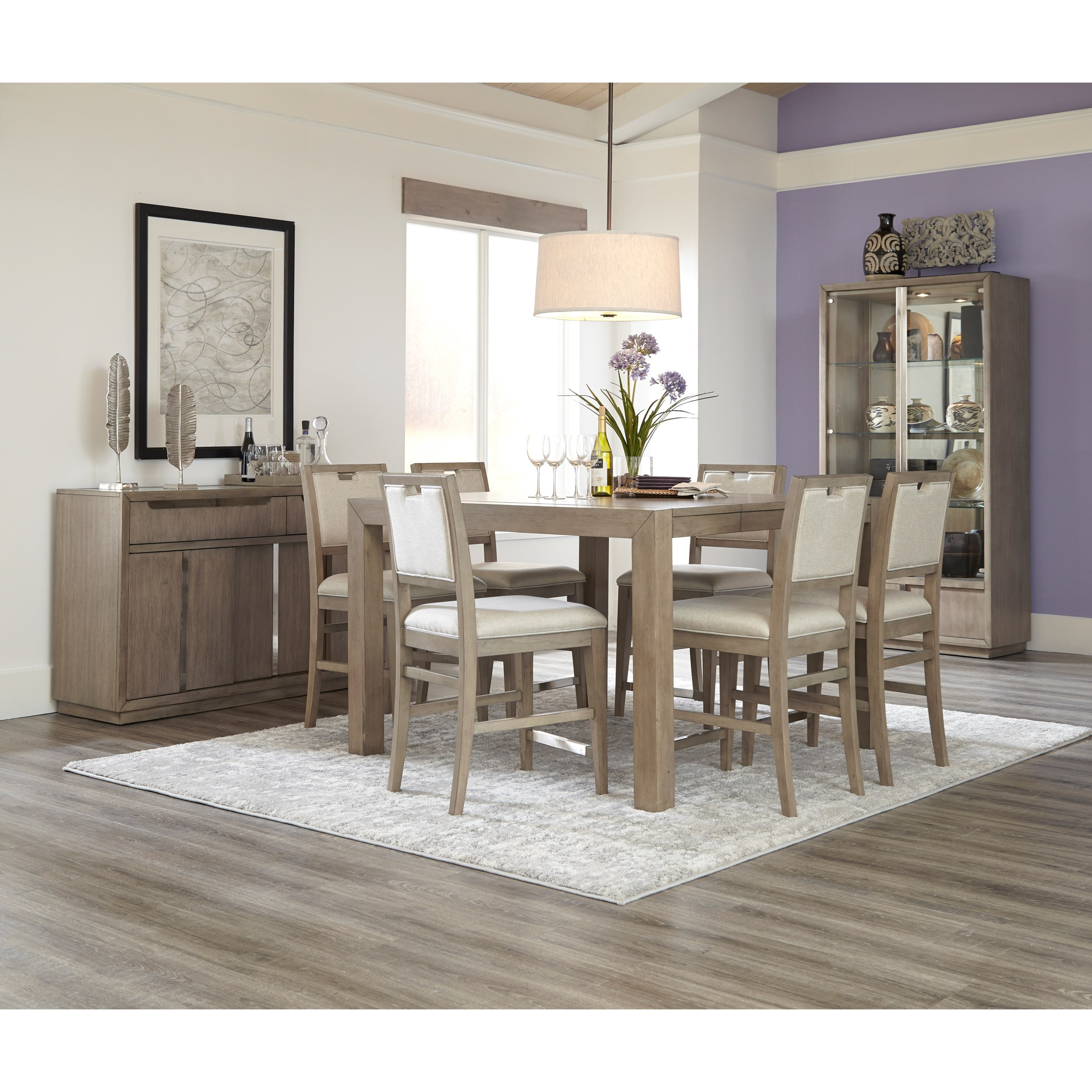 Melbourne Casual Counter Height Dining Room Set by Klaussner International  sc 1 st  Pilgrim Furniture City & Klaussner International Melbourne Casual Counter Height Dining Room ...