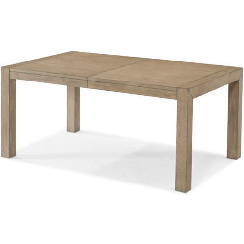 Klaussner International Melbourne Contemporary Dining Table with One Leaf