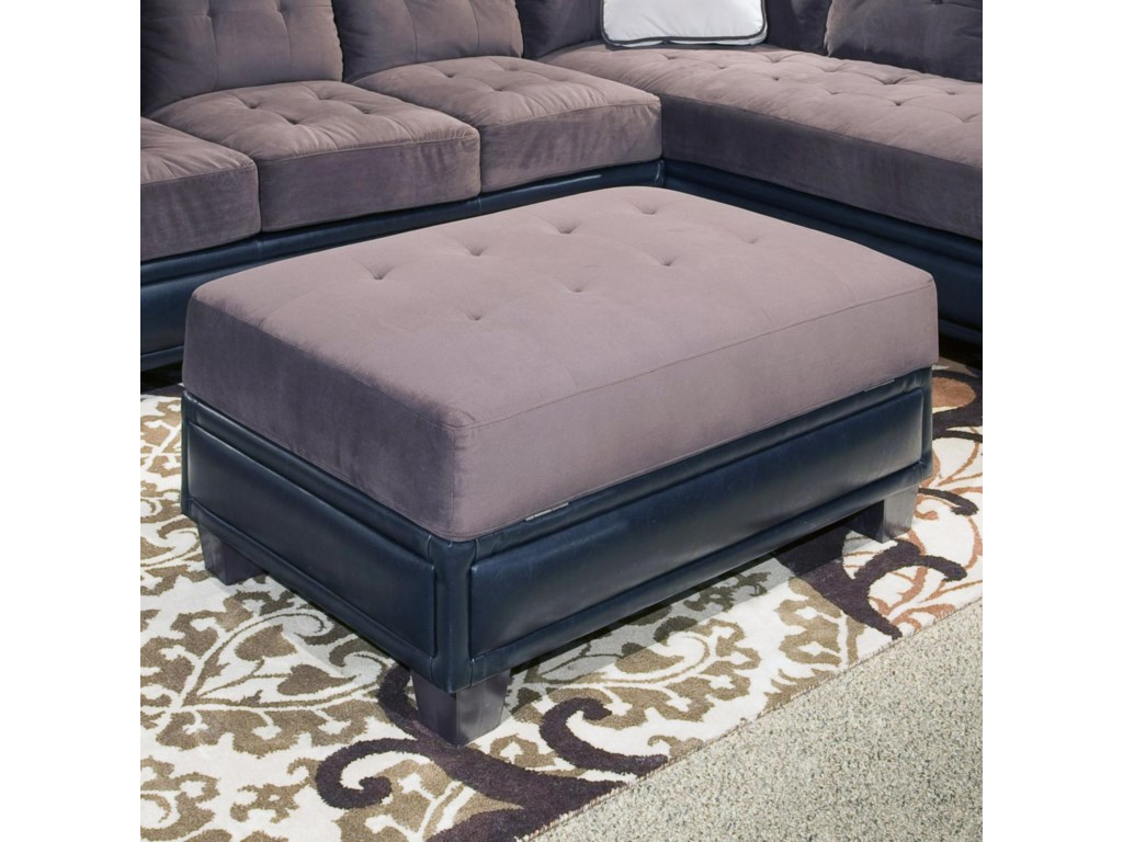 Klaussner International Norwich Large Sectional Sofa ...