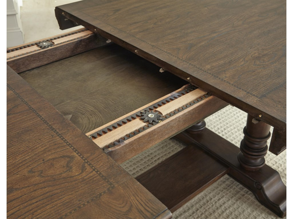 Adjust Table to Accommodate Leaf and Extend Length