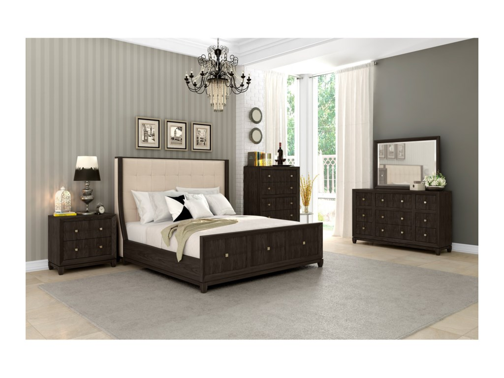 Klaussner International RegencyCalifornia King Bedroom Group