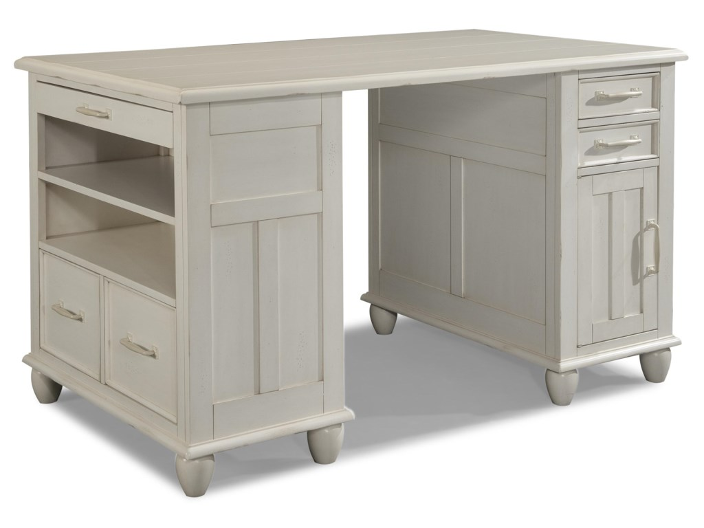 Carolina Preserves by Klaussner Sea BreezeDay Dream-Complete White Desk