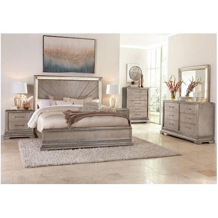 King 4 Piece Bedroom