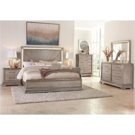 Queen 4 Piece Bedroom