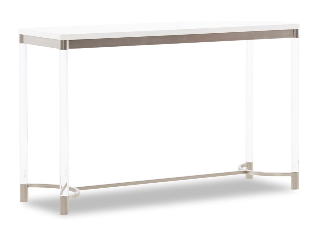 Klaussner International Studio WhiteSofa Table