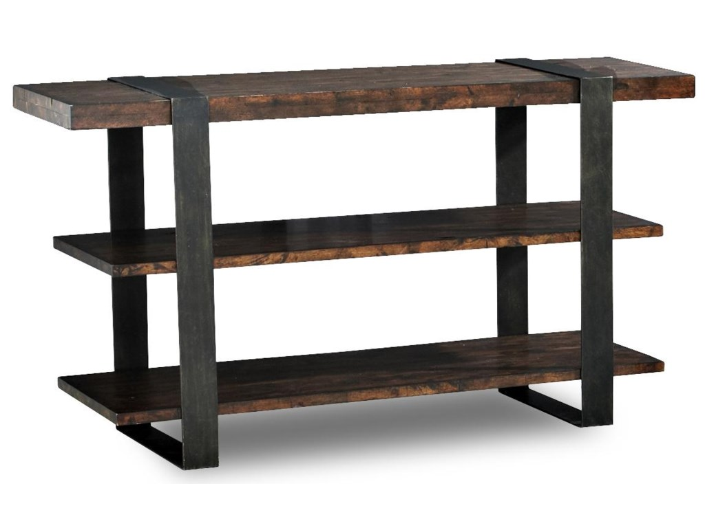 Klaussner International Timber Forge 444-825 STBL Rustic Sofa Table ...