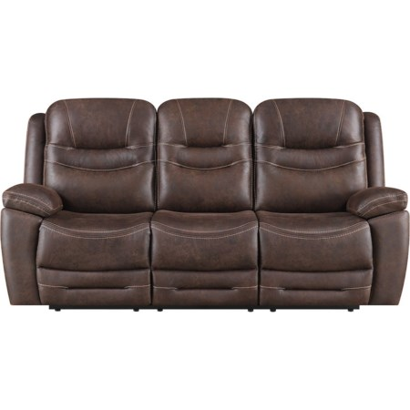 Power Reclining Sofa w/ Drop Down Table