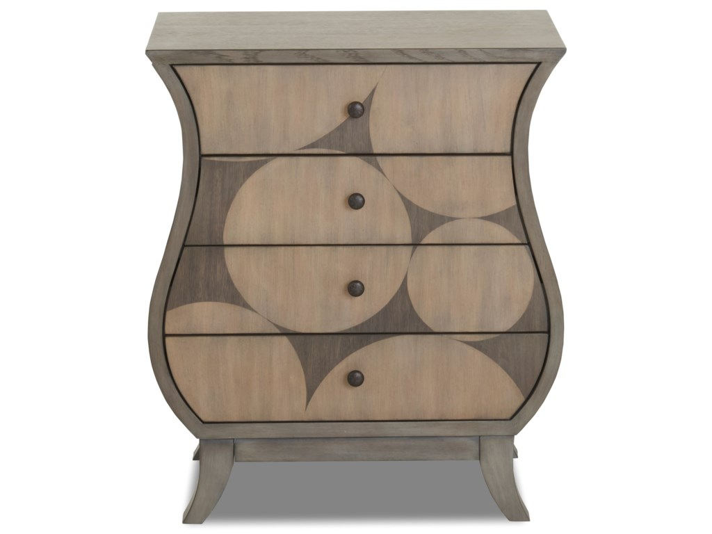 Klaussner International Waxing poeticForm & Beauty End Table