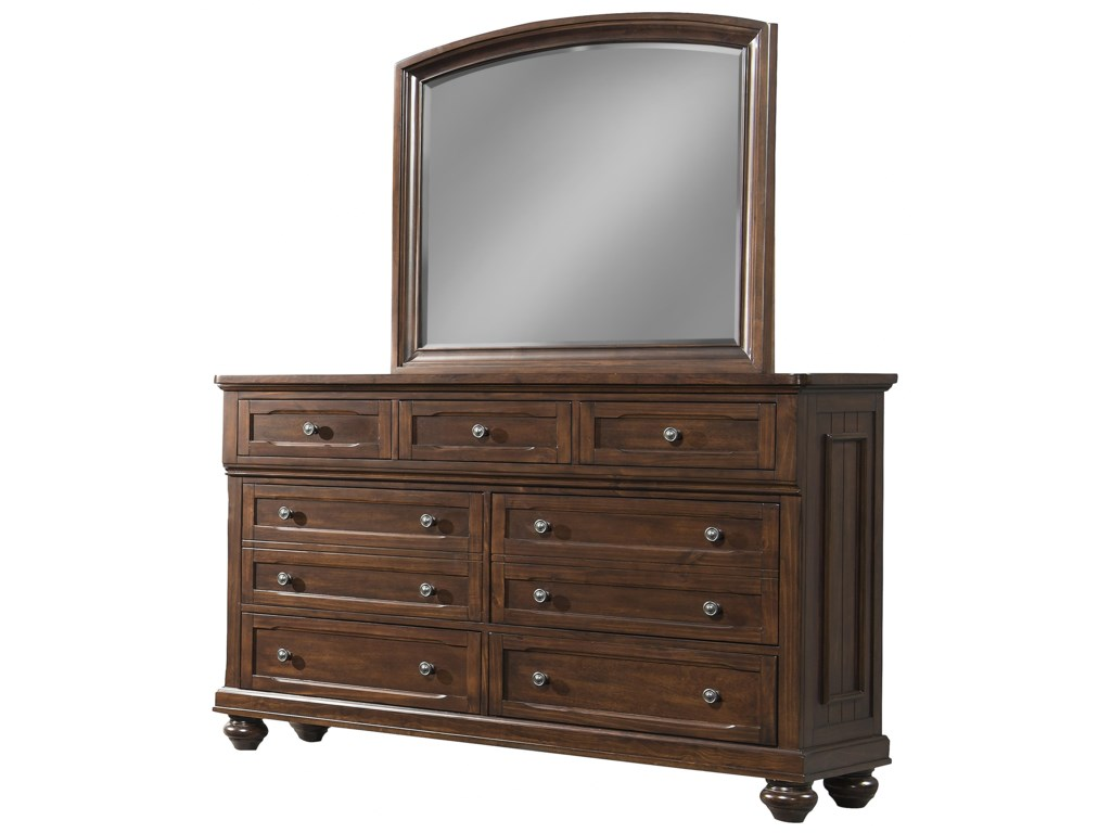 Klaussner International WhittingtonDresser and Mirror