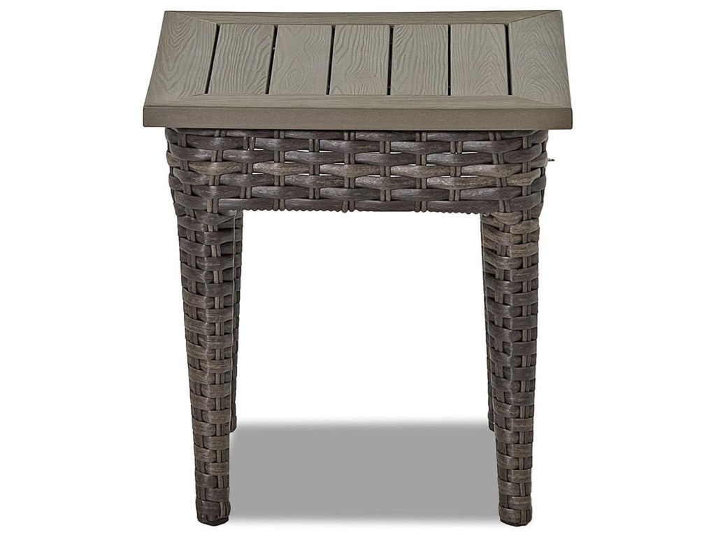 Klaussner Outdoor CascadeSquare Accent Table